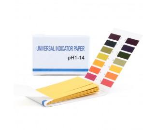 pH-тест: лакмусовая индикаторная бумага pH 1-14 (универсальная)